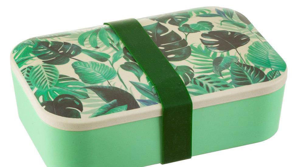 Sass & Belle Botanical Jungle Bamboo Lunch Box