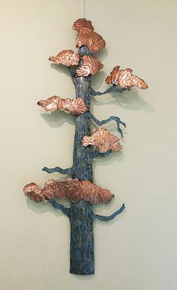 Copper Tree - Sculpture