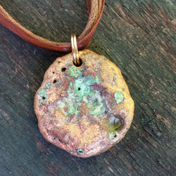 Bronze Pendant - Moon