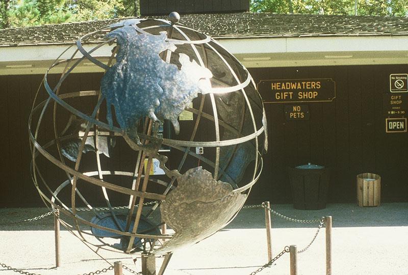 Rivers Globe