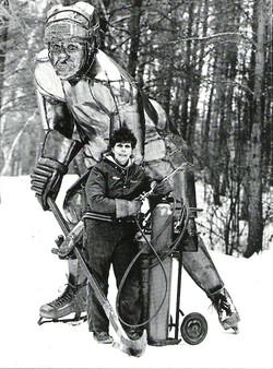 Mr Hockey - Sculpture