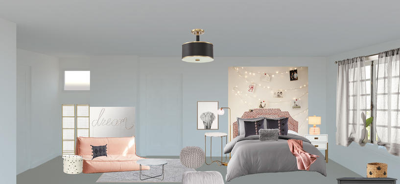 PINK AND GREY TEEN DREAM