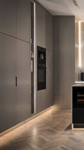 Invisible Grey Kitchen