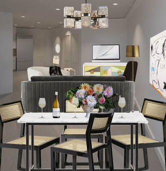 Contemporary Luxe Dining