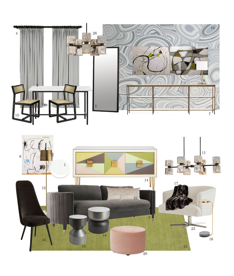 Contemporary Luxe Source List