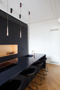 Sleek Panel Kitchen