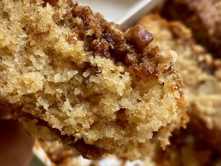 עוגת דבש קראמבל פקאן קינמון