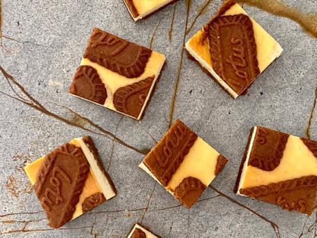 חיתוכיות גבינה שוקולד לבן לוטוס