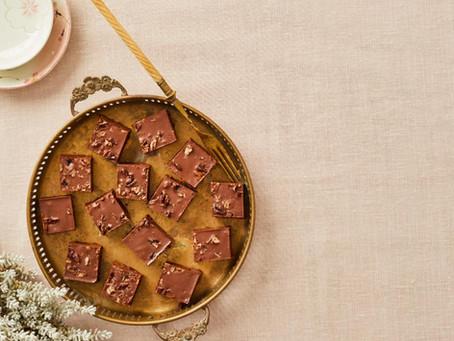 טראפלס שוקולד טחינה פקאן