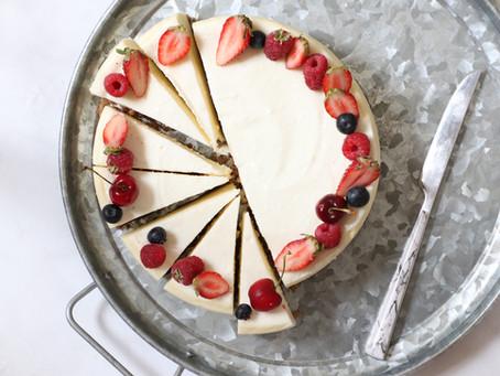 עוגת גבינה של שבועות