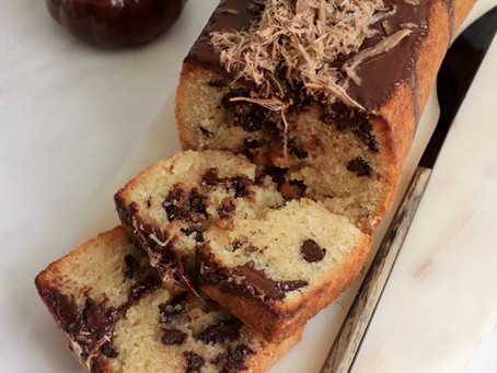 עוגת חלבה ושוקולד צ'יפס פרווה
