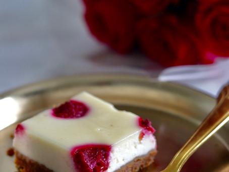 עוגת גבינה פטל