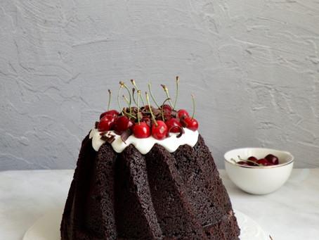עוגת שוקולד היער השחור
