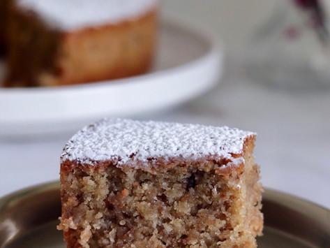 עוגה בחושה אגוזים פרווה לפסח
