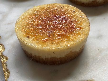 עוגת גבינה קרם ברולה