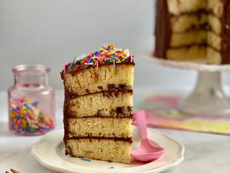 עוגת פנקייק ללא אפיה