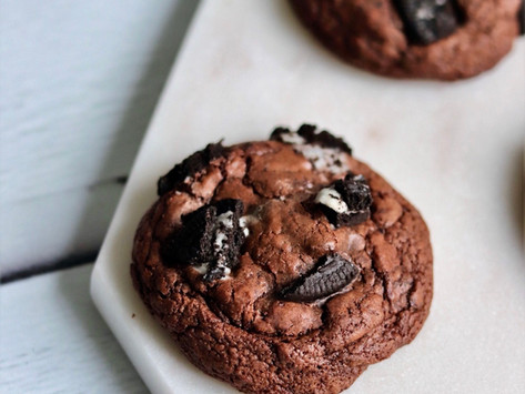עוגיות פאדג׳ שוקולד אוראו פרווה