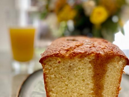 עוגת תפוזים מייפל חלומית