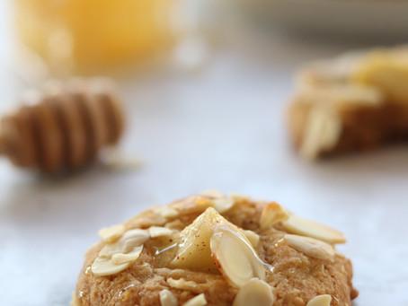 עוגיות דובשניות ותפוחים