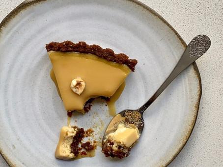 פאי גבינה בלונדי טופי קרמל