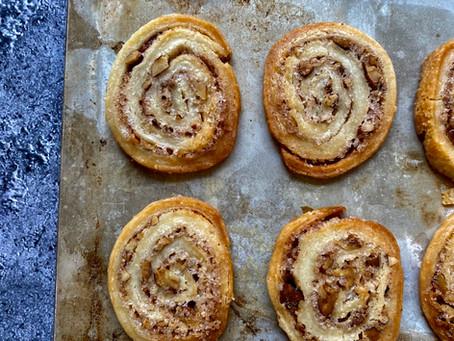 עוגיות חמאה קינמון ופקאן