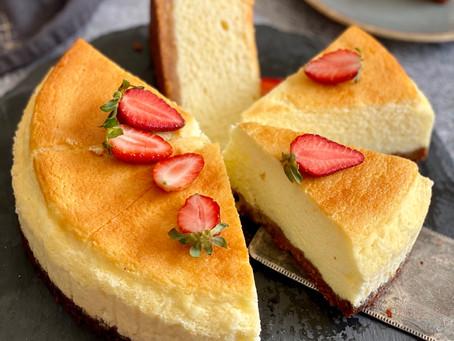 עוגת גבינה עננים מושלמת לפסח