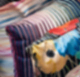 Missoni Home Pillows and Throws, custom & colorful designs.