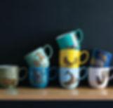 Avenida animal mugs at Julia Moss Designs
