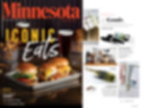 ExciJMD vintage inspired napkin rings featured in Minnesota Monthly magazine