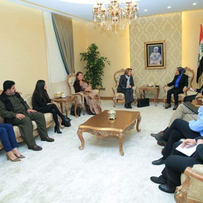 NMDC visit to the KRG Parliament