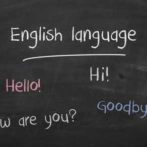 New Online English Language Course Starting in September 2020