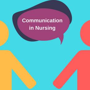 Communication Skills for Nurses/ Midwives Training Starting in November 2020