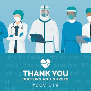 Thank you to all health workers