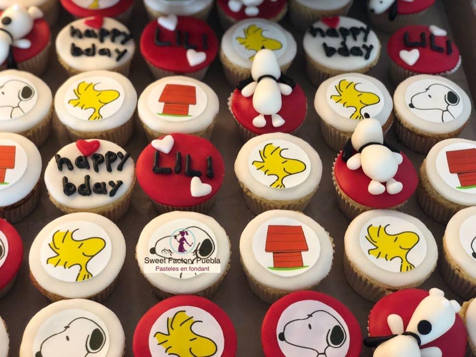 Cupcakes Snoopy