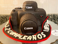 Pastel Cámara Canon