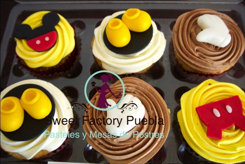 Cupcakes Mickey Mousse