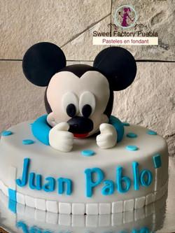 Pastel Mickey bebe