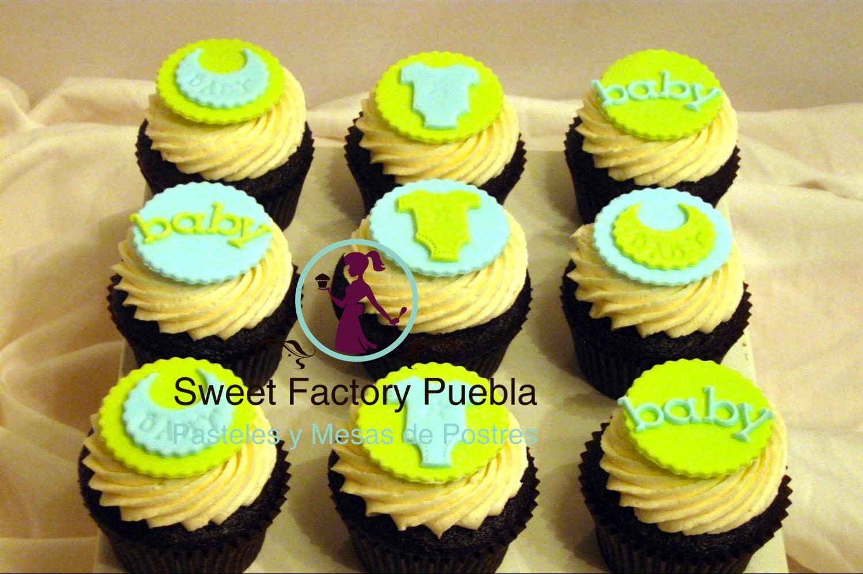 Cupcakes baby shower / bautizo
