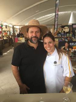 Con el Chef Enrique Olvera