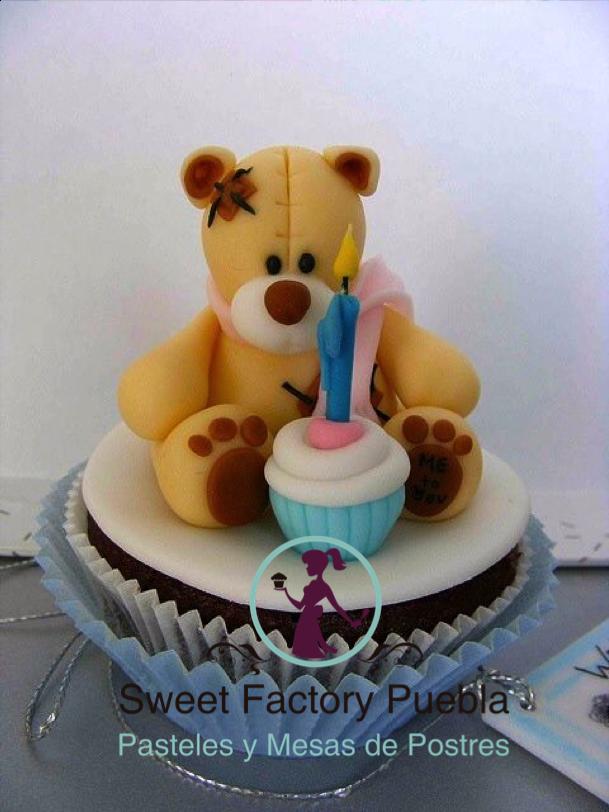 Cupcakes osos