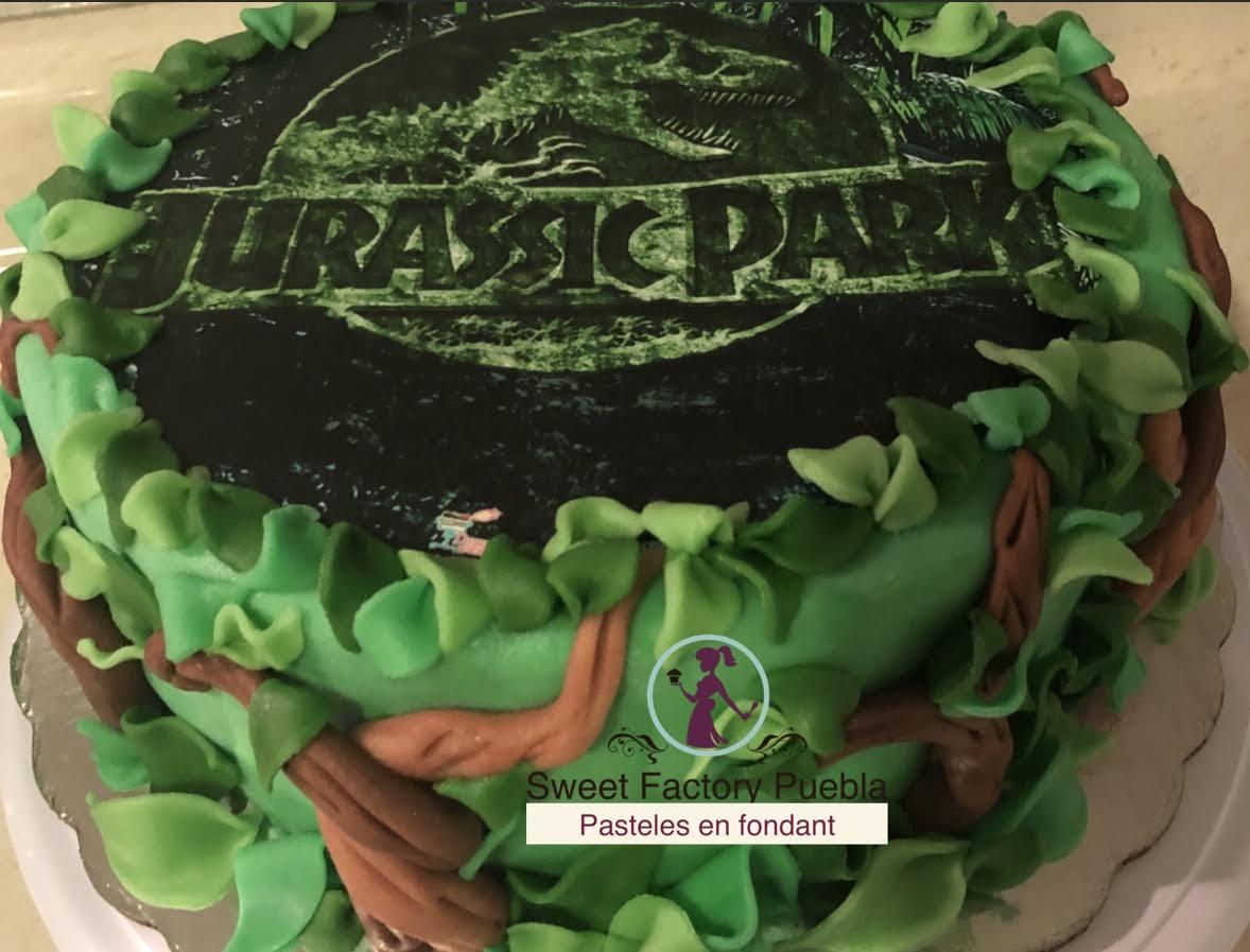 Pastel Jurassic Park