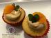Cupcakes de mandarina y café