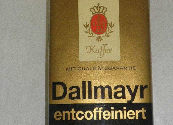 Dallmayr entcoffeiniert/ decaffeinated