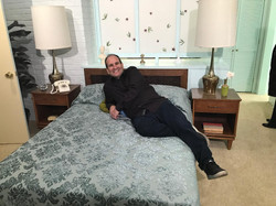 Master Bedroom Brady Bunch with me on be