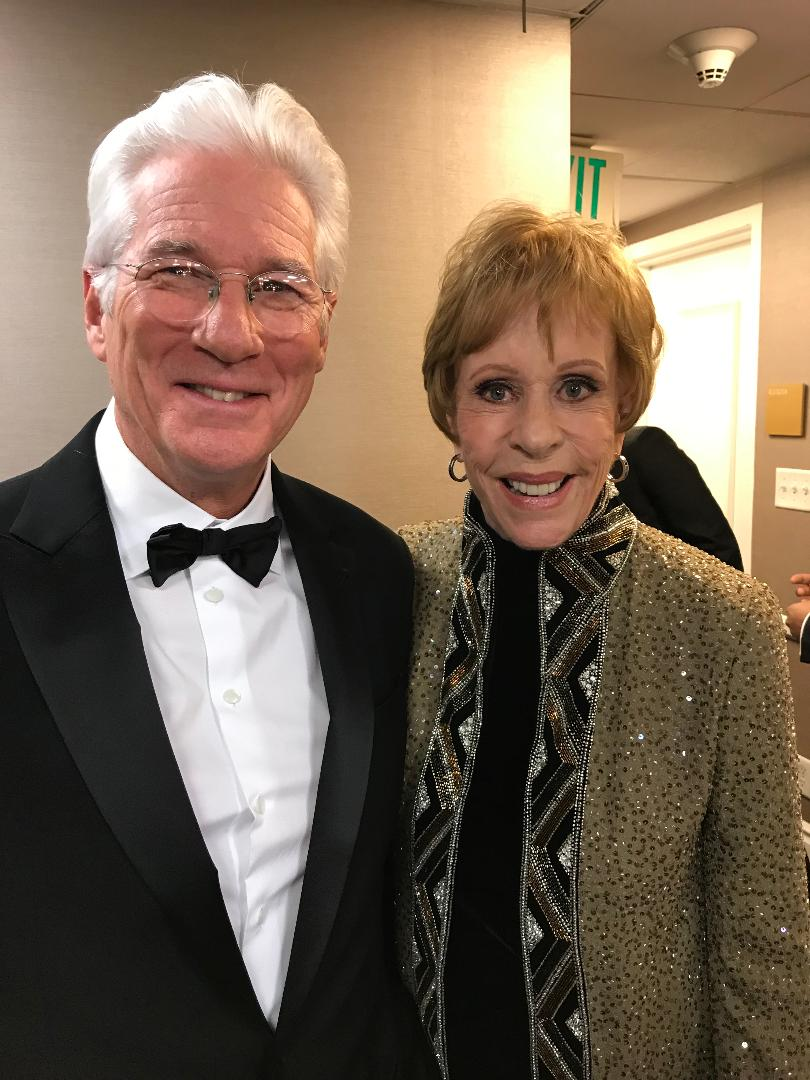 Carol Burnett and Richard Gere 1-6-2019.