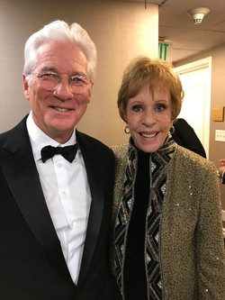 Carol Burnett and Richard Gere 1-6-2019.