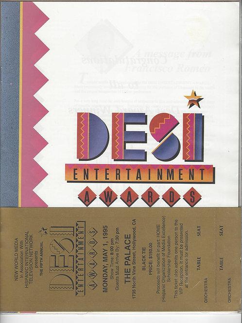 Desi Award Program (1992) & Ticket (1995)
