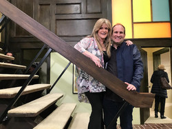 Susan Olsen stair case Brady Bunch 5-23-