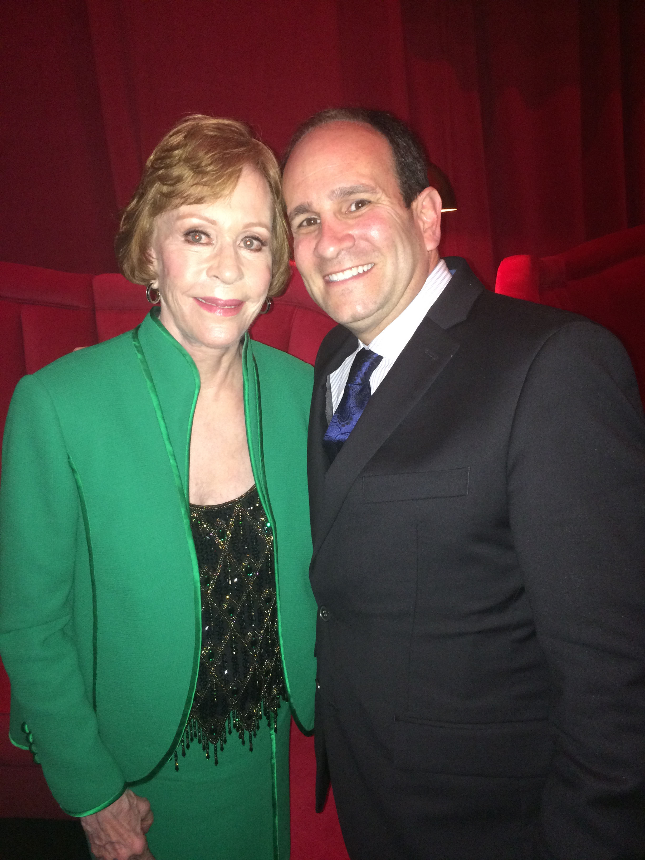 Carol Burnett 1-30-2016 SAG AWARDS