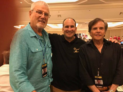 Cast of Shazam John Davey and Michael Gray 7-9-2017